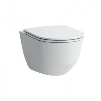 Laufen PRO Унитаз консольный Rimless, скрытый крепеж  + крышка Soft-Close Slim H8669570000001