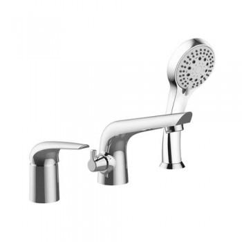 Cмеситель для ванны Imprese KRINICE врезной, на три отверстия, хром, 35 мм 85110