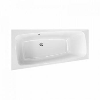 Акриловая ванна Kolo SPLIT 150X80см, асимметричная, левая, центральный слив, с ножками SN0