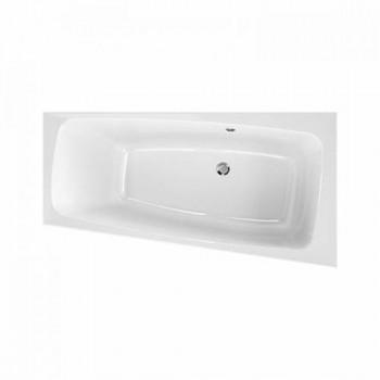Акриловая ванна Kolo SPLIT 150X80см, асимметричная, правая, центральный слив, с ножками SN0