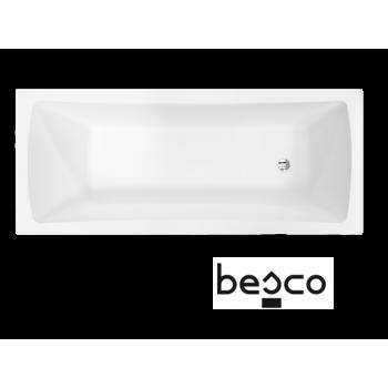 Акриловая ванна Besco PMD Piramida Optima 140 Х 70