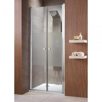 Двустворчатая душевая дверь Radaway Eos DWD 37703-01-01N 900мм