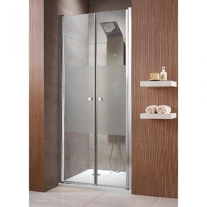 Двустворчатая душевая дверь Radaway Eos DWD 37773-01-01N 1200мм