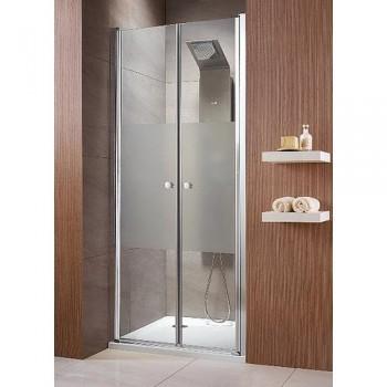 Двустворчатая душевая дверь Radaway Eos DWD 37783-01-01N 700мм