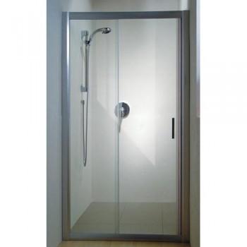 Душевая дверь 100 см RAVAK RAPIER левая Transparent стекло тип NRDP2-100 (артикул 0NNA010LZ1) профиль белый