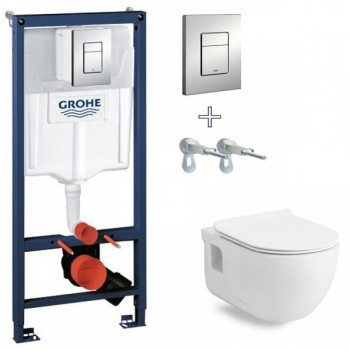 GROHE Инсталляция RAPID SL 38772001+унитаз Volle Altea Rimless сиденье Slim slow-closing 13-64-267