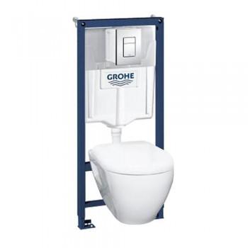 GROHE Инсталляция RAPID SL 38772001+унитаз GROHE Solido Perfect 39186000 с сидением soft-close