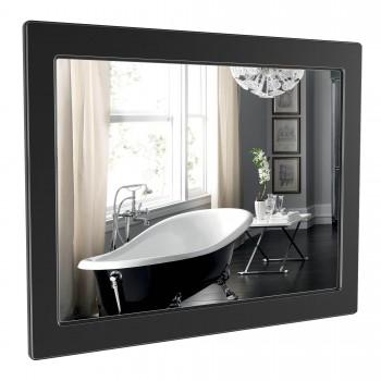 Зеркало AKVA RODOS Беатриче 100 см чёрный патина хром