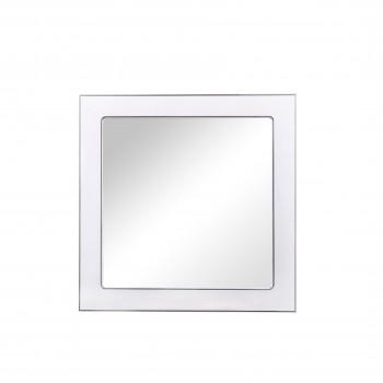 Зеркало AKVA RODOS Беатриче 100 см белый патина хром