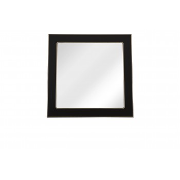 Зеркало AKVA RODOS Беатриче 80 см чёрный патина золото