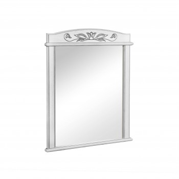 Зеркало AKVA RODOS Микела 100 см белое