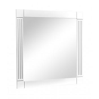 Зеркало AKVA RODOS Роял 100 см белый патина серебро