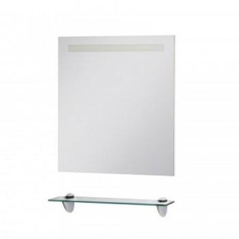 Зеркало шкаф ЮВЕНТА ZLATA ZlM-65 (белое)