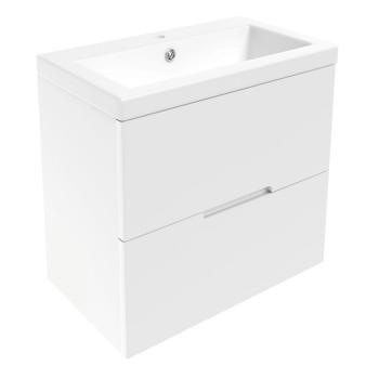 Volle AIVA 15-68-60 комплект мебели 60 см белый: тумба подвесная + умывальник накладной
