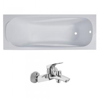 Ванна акриловая Volle FIESTA 1500X700X435мм без ножек TS-1570435 + 15192100
