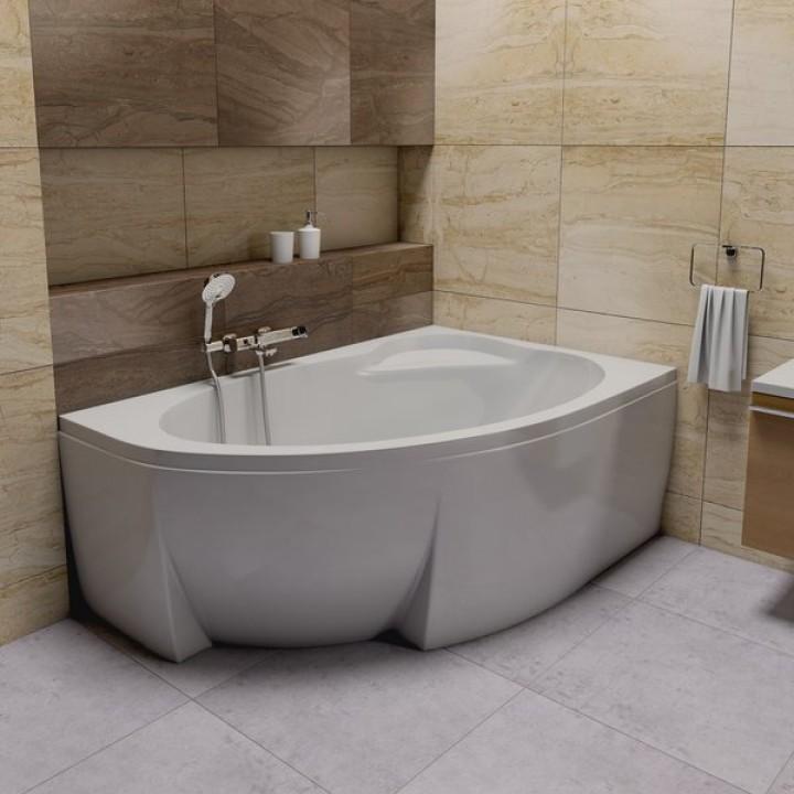 Акриловая ванна ASYMMETRIC R 150 X 100