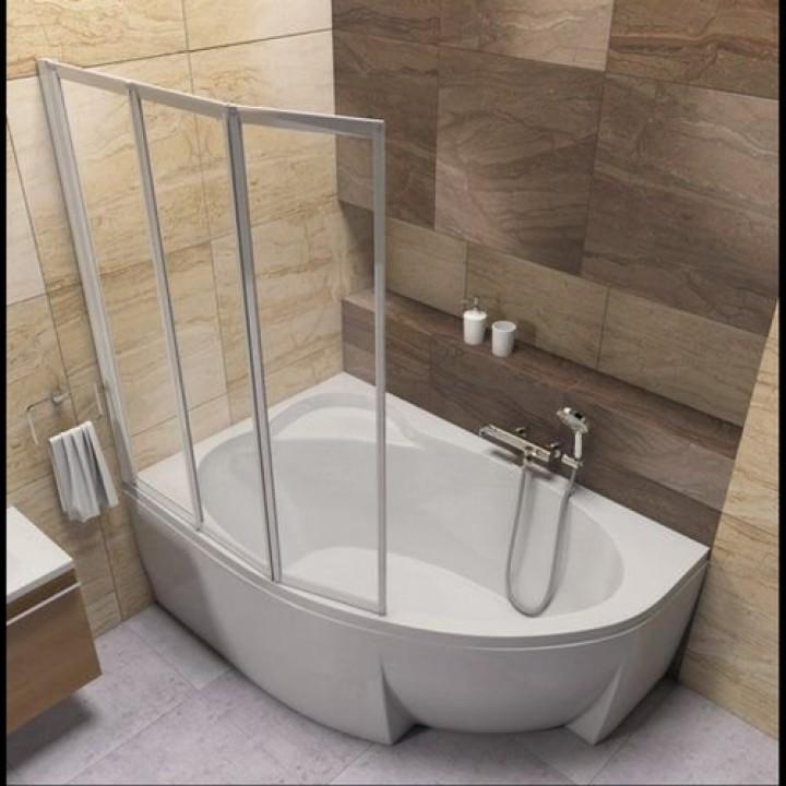 Акриловая ванна ASYMMETRIC L 170 X 110