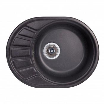 Кухонная Мойка Fosto 58X45 Sga-420 (Черный)