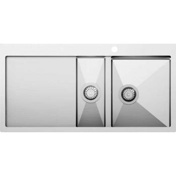 Кухонная мойка Aquasanita  LUNA LUN151M-R 1000x510