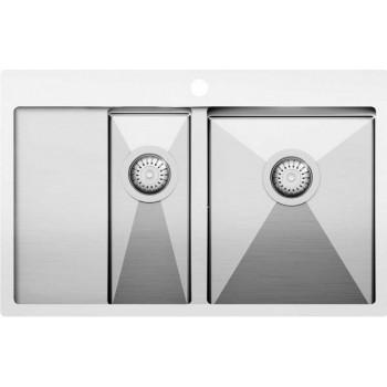 Кухонная мойка Aquasanita  LUNA LUN151N-R 780x500