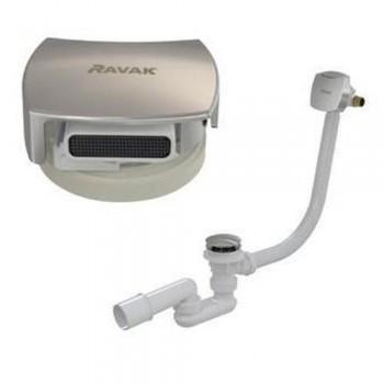 Ravak Сифон для ванной с переливом и наполнением ClickClack  X01440