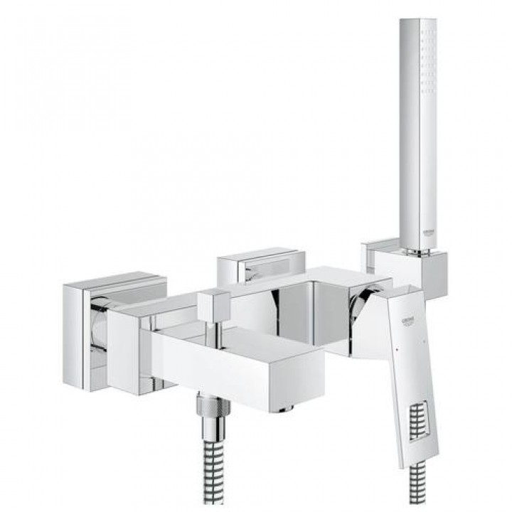 Grohe Смеситель для ванны с ручным душем Grohe Eurocube 23141000