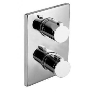 Cмеситель Imprese CENTRUM cмеситель для ванны, термостат, скрытый монтаж (3 потребителя) VRB-10400Z