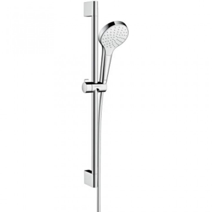 Душевой набор Hansgrohe Croma Select S 0,65м цв белый хром 26564400