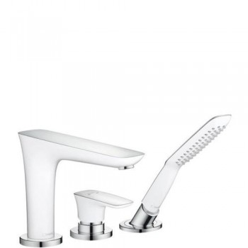 Hansgrohe Cмеситель для ванны на 3 отверстия Hansgrohe PuraVida 15432400