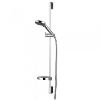 Душевая штанга IMPRESE DOBRANY 8210003 L-82сммыльницаручной душ 3 режимашланг 15м с вращающимся конусом (Anti-Twist)блистер
