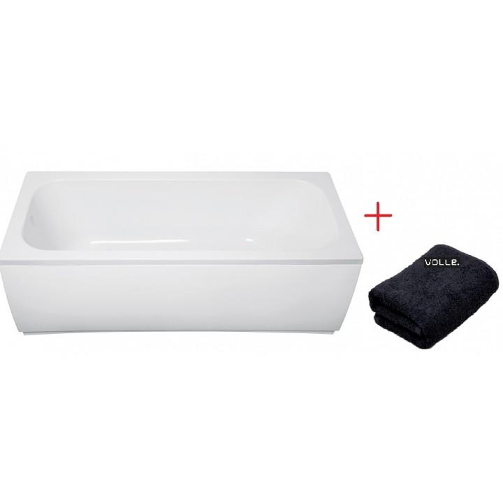 Ванна акриловая Volle ALTEA 170X700X448мм без ножек + Полотенце махровое Volle TS-1770448+подарок