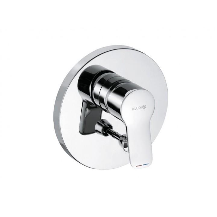 KLUDI Pure&Easy Встраиваемый cмеситель для ваннны, хром. Наружная панель, 374190565