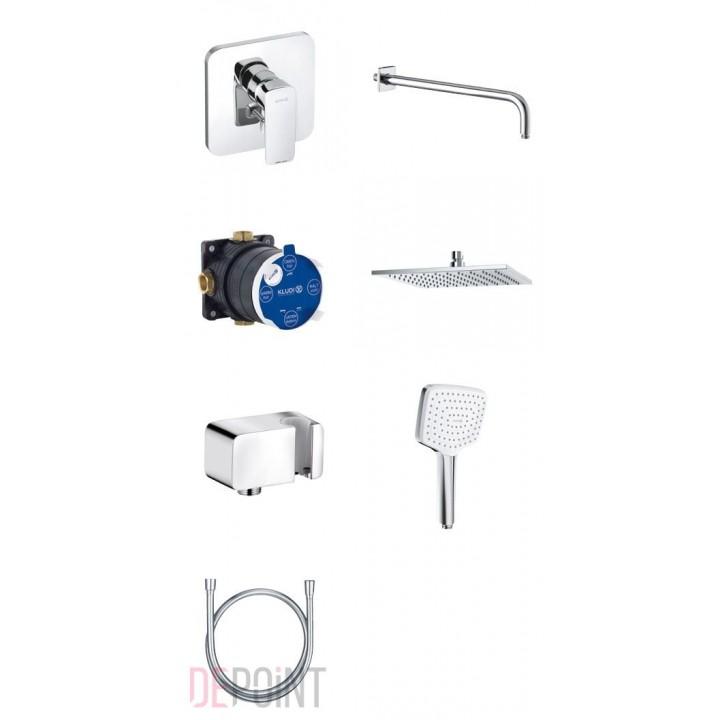 KLUDI Pure&Style Встраивамый комплект 7в1, 406300575