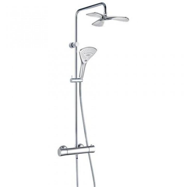 Kludi Душевая система с термостатом Kludi Fizz Dual Shower System 670960500