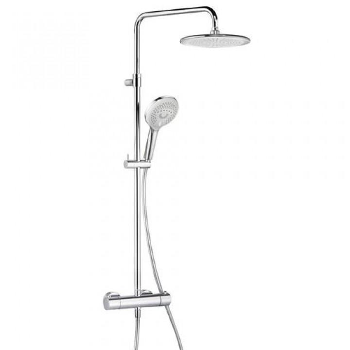 Kludi Душевая система с термостатом Kludi Freshline Dual Shower System 670920500