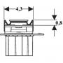 Дренажный канал Geberit CleanLine60 полированный/матовый металл, L30-130 см (154.457.KS.1)