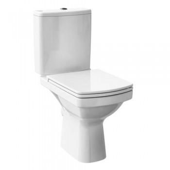 Унитаз-компакт Cersanit EASY Clean on 011, 3/5 л, горизонтальный выпуск + сиденье Duroplast