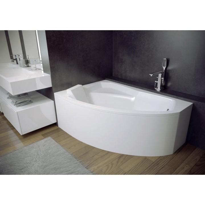 Акриловая ванна Besco PMD Piramida «ADA » 140 X 90 левая с отверстиями под ручки