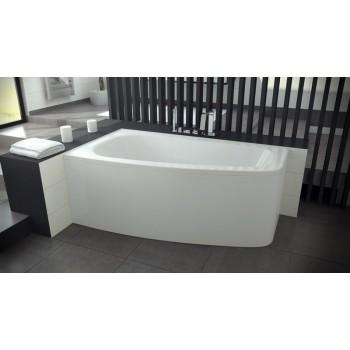 Акриловая ванна Besco PMD Piramida LUNA 150 X 80 левая