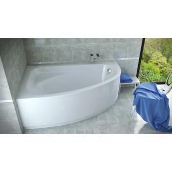 Акриловая ванна Besco PMD Piramida CORNEA 150 X 100 левая