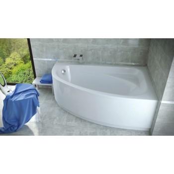 Акриловая ванна Besco PMD Piramida CORNEA 140 X 80 правая