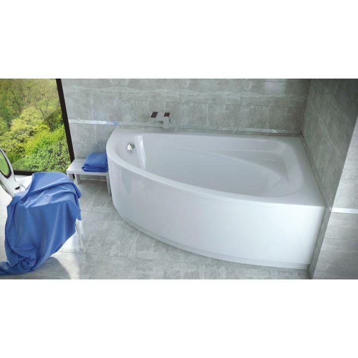 Акриловая ванна Besco PMD Piramida «CORNEA» 140 X 80 правая