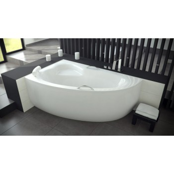 Акриловая ванна Besco PMD Piramida NATALIA 150 X 100 левая