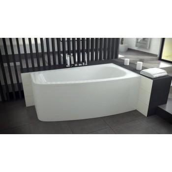 Акриловая ванна Besco PMD Piramida LUNA 150 X 80 правая