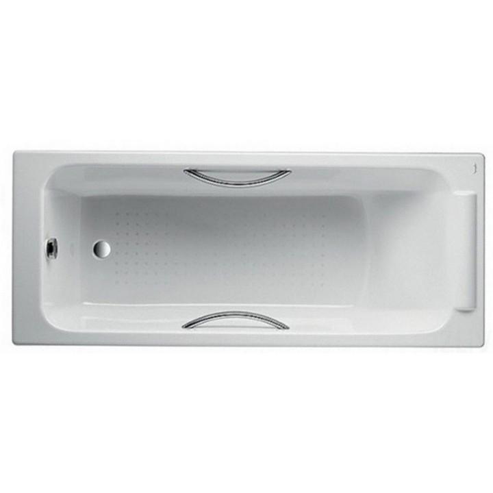 Ванна чугунная JACOB DELAFON Parallel 170х70 E2948-00 с ручками