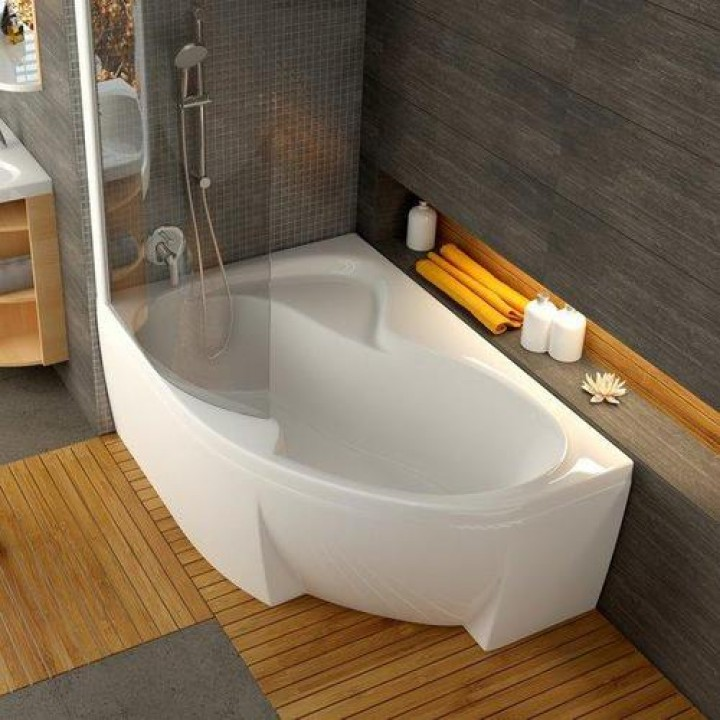Акриловая ванна ROSA II L 160 X 105