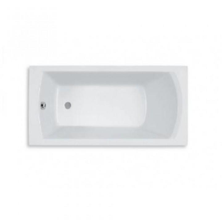 Ванна акриловая  ROCA LINEA ванна 170х75, с ножками A24T042000