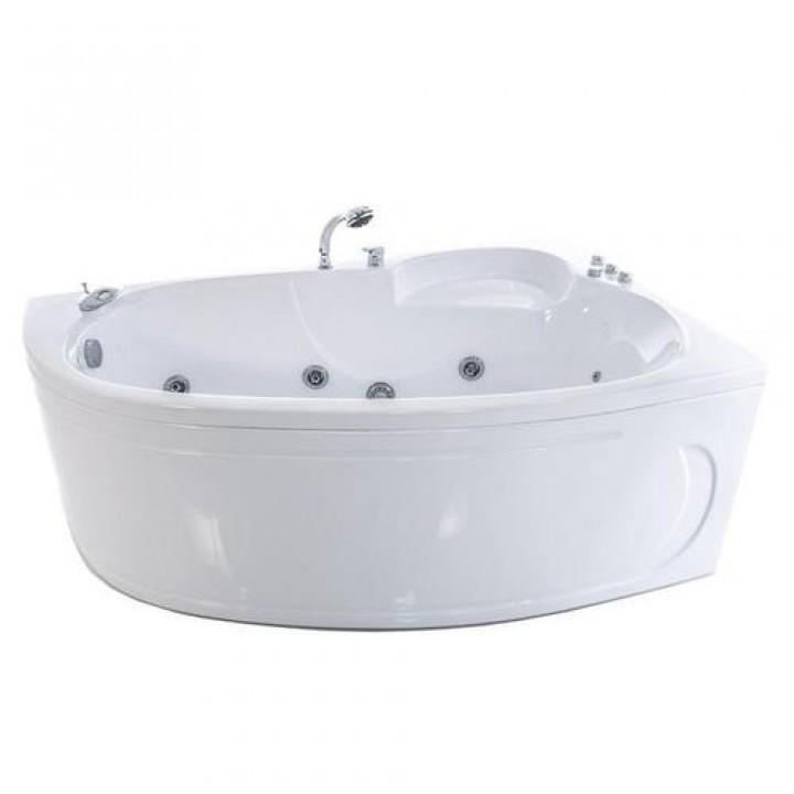Акриловая гидромассажная ванна «Изабель» (левая)