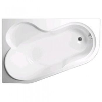 Ванна акриловая VAGNERPLAST SELENA VPBA141SEL3LE-01/NO левосторонняя