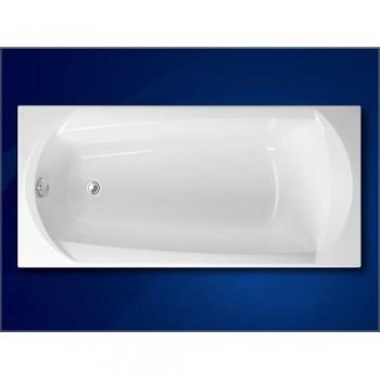 Ванна акриловая VAGNERPLAST EBONY VPBA160EBO2X-01/NO